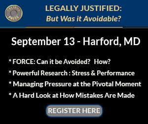 Legally Justified – Harford County