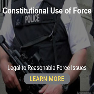 Constitutional Use of Force